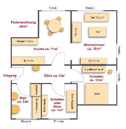 Familie Hümmer, Oberes Püttlachtal 27 in Pottenstein – Ferienwohnung 58 m²